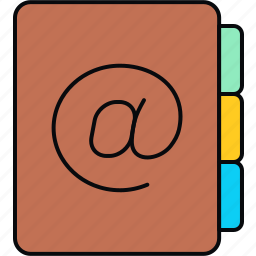diary, notebook, notepad, pad icon