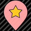 gps, location, navigation, pin