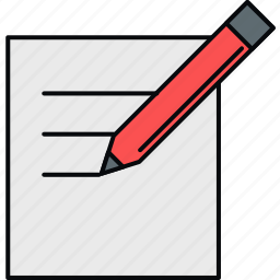 document, letter, message, paper, sheet, write, writing icon