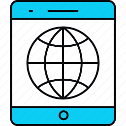 connection, internet, mobile, network, smartphone, social, web icon
