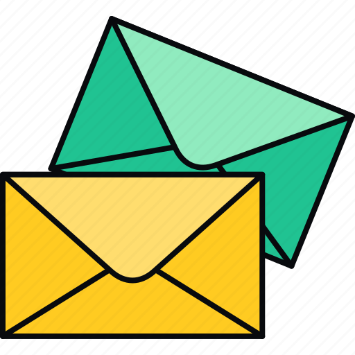 communication, envelope, inbox, letter, post icon