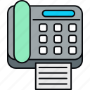 fax, telephone, communication