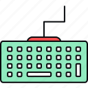 input, key, keyboard, keypad, keys icon