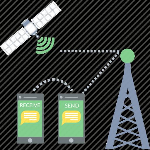 antenna, communication, network, satellite, tower icon