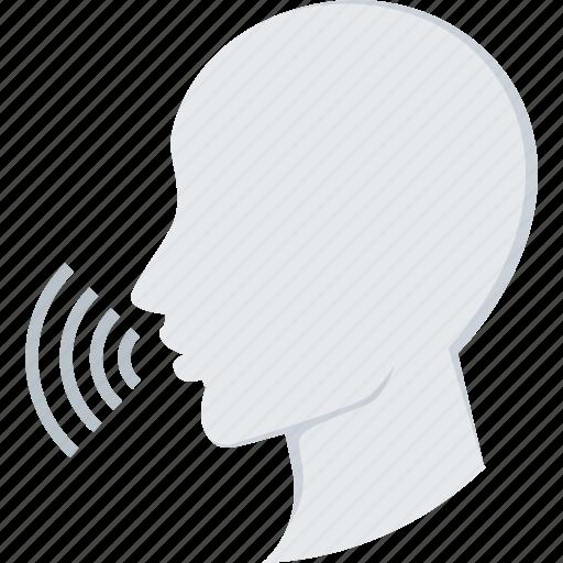 audio, speak, speech, talk icon