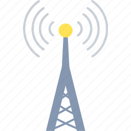 communication, network, tower, wifi, wifi tower icon