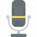audio, mic, microphone, mike, music, sound icon
