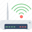 internet, modem, router, wifi, wireless icon