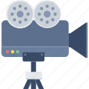 camera, media, photo, photography, video, video camera icon