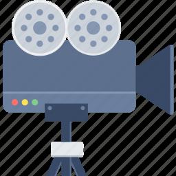 camera, media, photo, photography, video, video camera icon