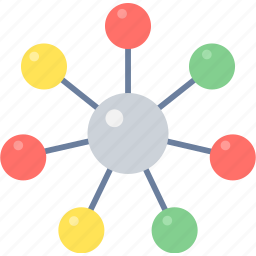 communication, connection, internet, network, social, web icon