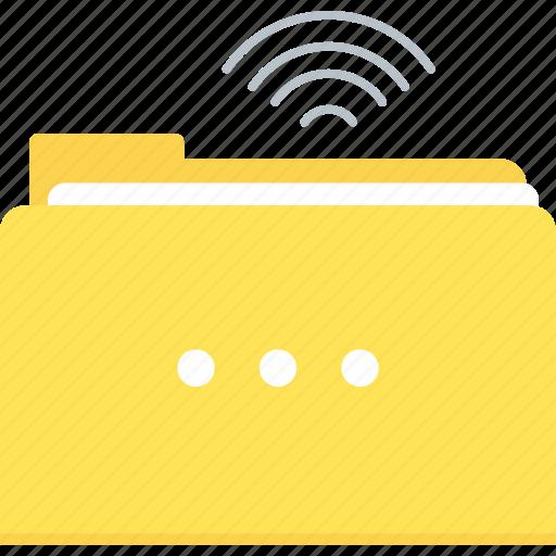 file, folder, media, share, sharing icon