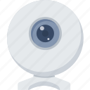 camera, web, live chat, photo, photography, web camera icon