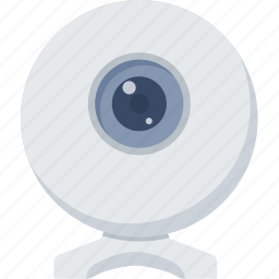 camera, live chat, photo, photography, web, web camera icon