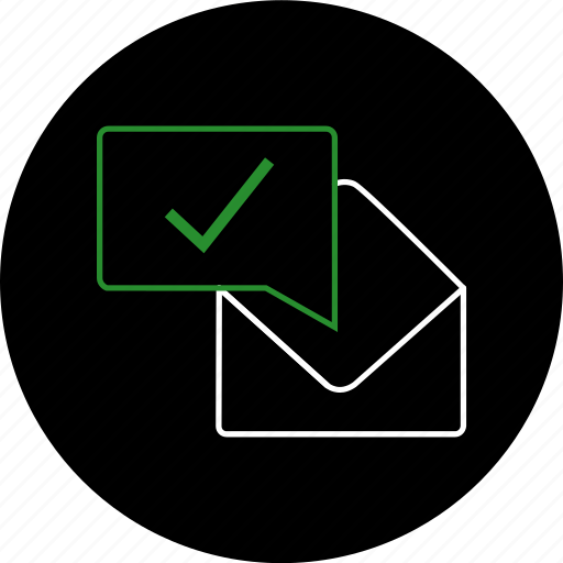chat, communication, envelope, gmail, message, notification, text icon