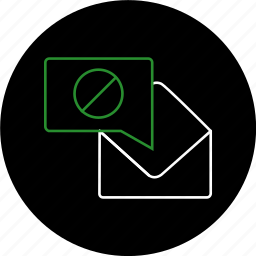 chat, communication, email, envelope, message, notification icon