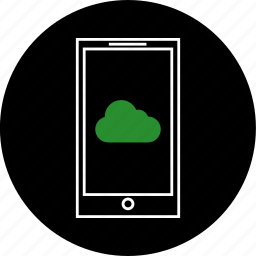 chat, cloud, communication, message, notification, phone, text icon