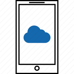 cloud, email, mail, message, network, notification, text icon