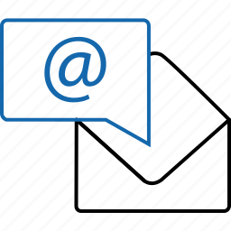 email, envelope, internet, mail, message, notification, text icon