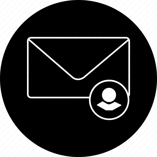 chat, communication, envelope, message, notification, text, user icon
