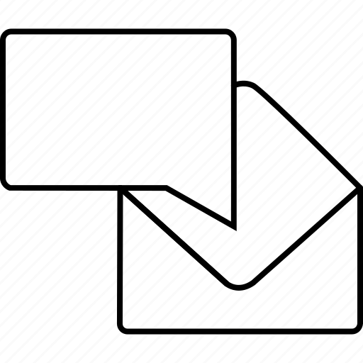 chat, communication, email, envelope, gmail, mail, text icon