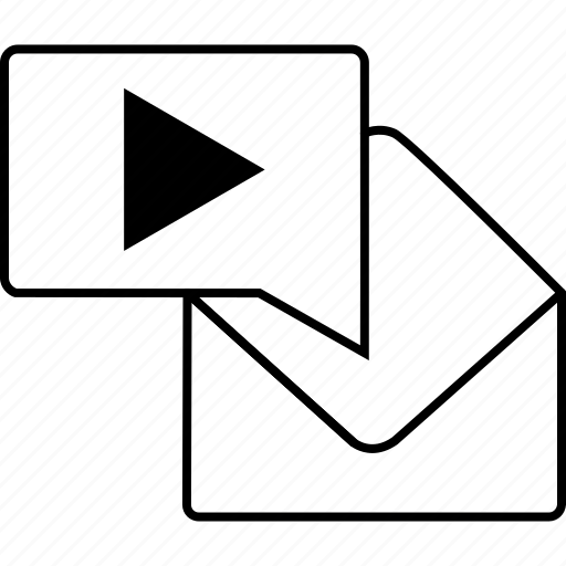 chat, communication, email, envelope, mail, music, text icon