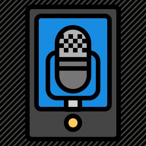 android, app, audiorecording, iphone, memo, voice icon