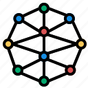 connections, social, socialnetwork icon