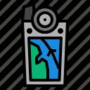 gps, location, navigation, navigator icon