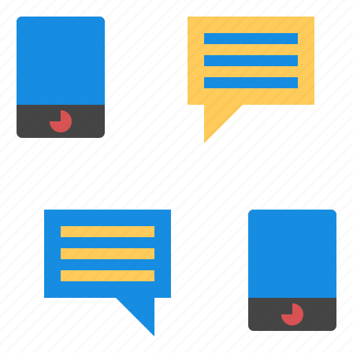 chat, mobile, smartphone icon