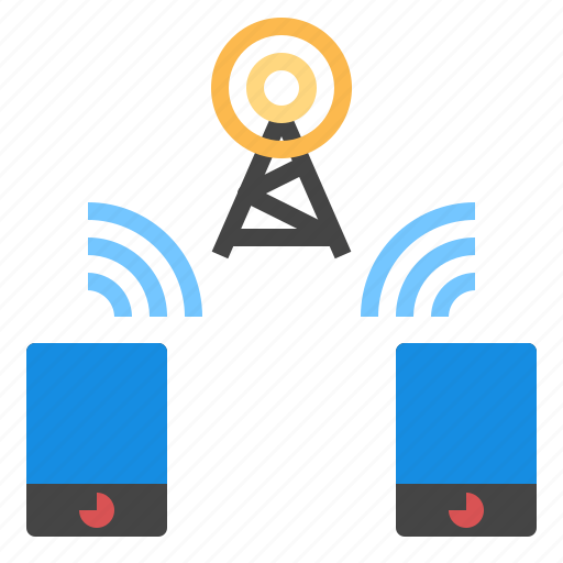 Communication, radio, smartphone icon - Download on Iconfinder