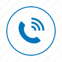 call, communication, contact, message, phone, talk icon