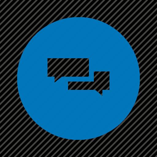 chat box, chatting icon