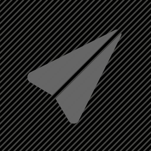 message, paperplane, send, sent icon