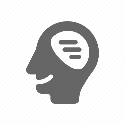 human, language, mind, smile icon