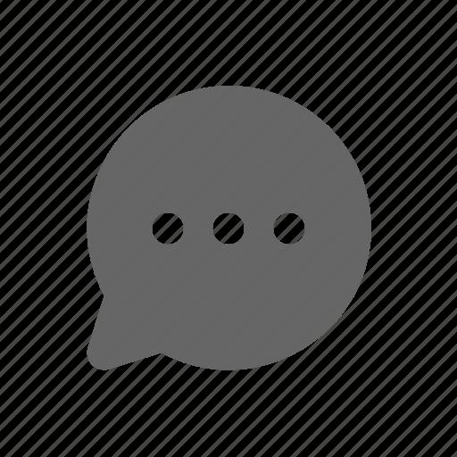 bubble, chat, comment, message, messenger icon
