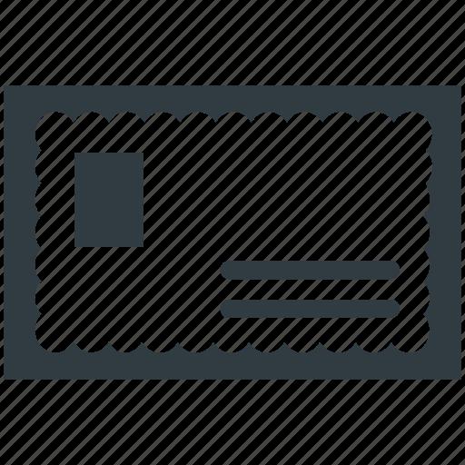 letter, letter envelope, mail, post, post letter icon