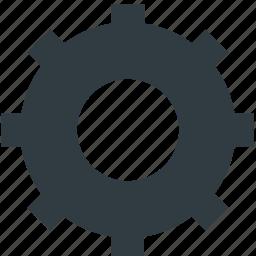 cog, cogwheel, gear, options, setting icon