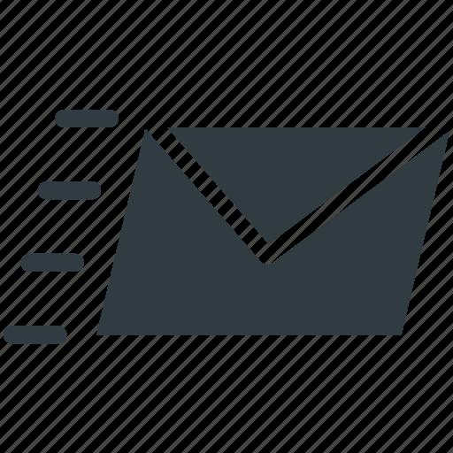 Email, mail, sending email, sending mail, sent email icon ...