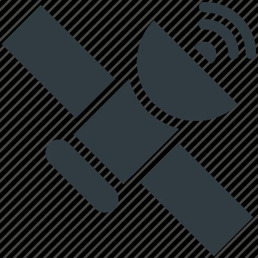 dish antenna, parabolic antenna, radar, satellite, space icon