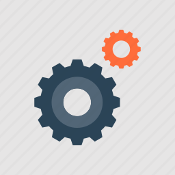cogwheel, engine, gear, mechanics, options, process, settings icon