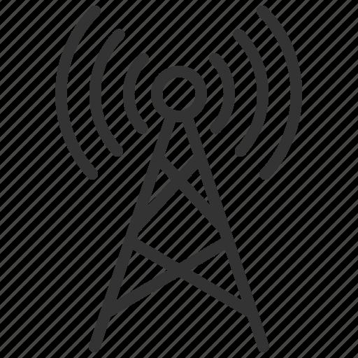 communication, internet, network, online, social, wifi, wireless icon