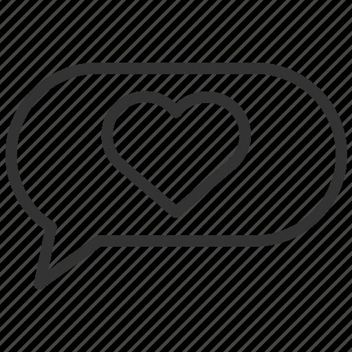 bubble, communication, message, network, speech, talk icon