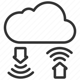 cloud, communication, connection, exchange, internet, network, seo icon