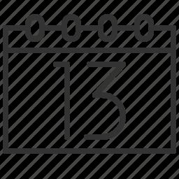 calendar, communication, message, schedule icon