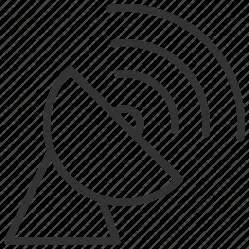 communication, connection, network, satellite, wireless icon