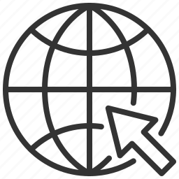 communication, connection, globe, internet, network, world icon