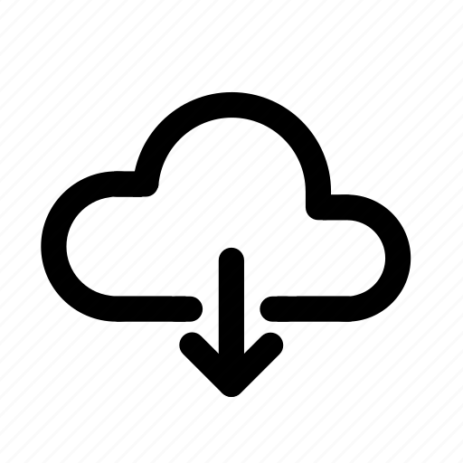 backup, cloud, download, online, sync, upload, web icon