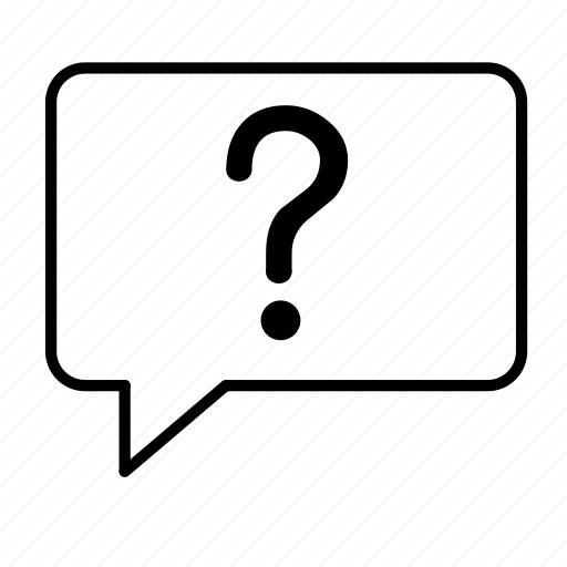 bubble, communicate, communication, mark, question, speech icon