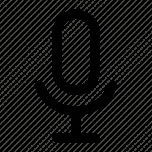 mic, microphone, record, sound icon
